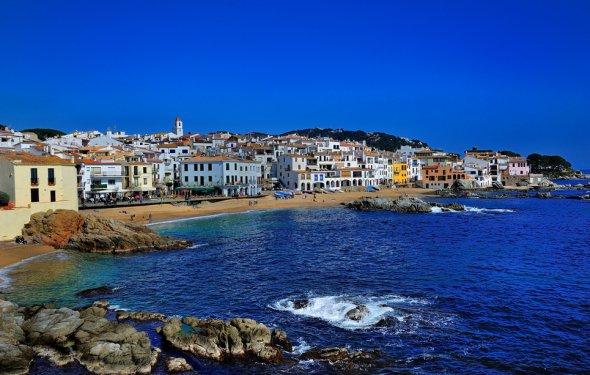 Пляжи Каталонии