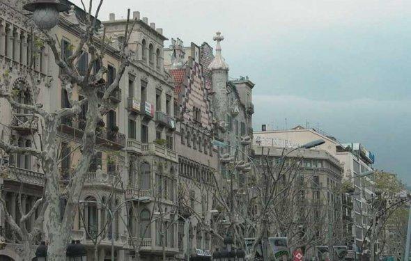 Барселона - один из красивых