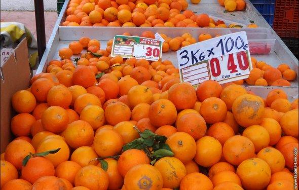 Сколько стоят апельсины в