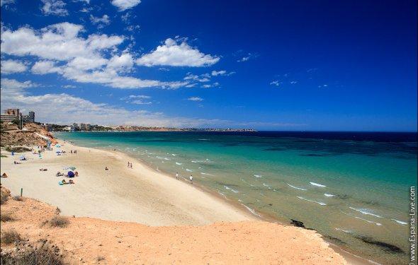 Песчаные пляжи Испании Коста