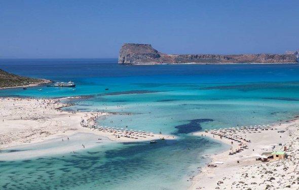 Лучшие песчаные пляжи Крита