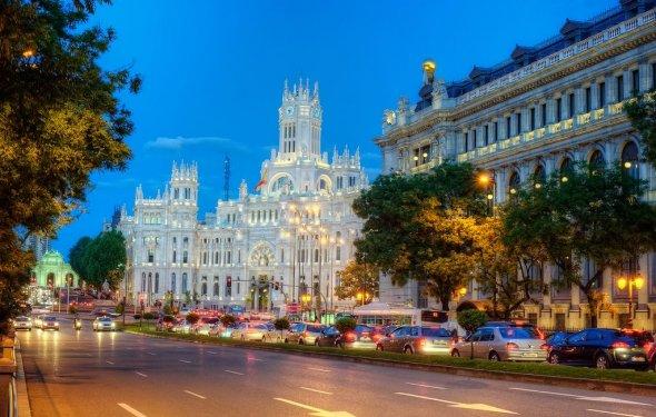 Началом истории Мадрида