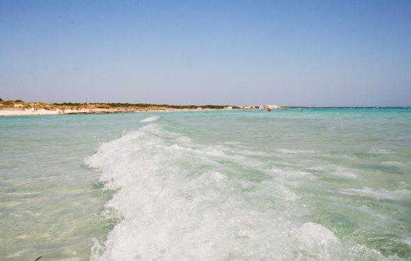 Пляж Са Рапита в Испании