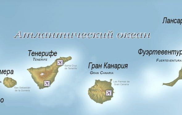 Канарские острова: климат