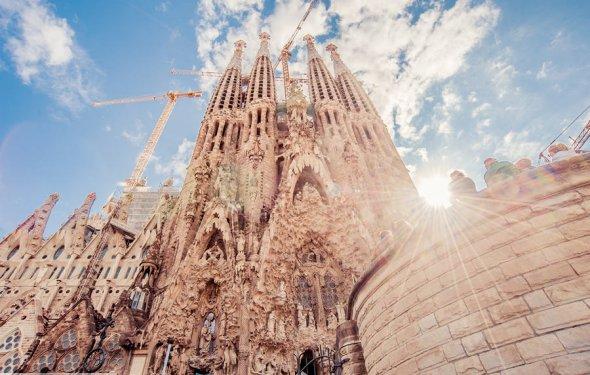 Барселона собор Гауди Саграда